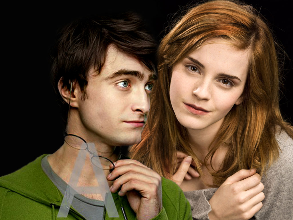 Harry and hermione hook up