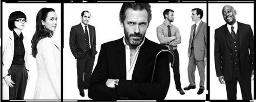 House M.D. wallpaper possibly containing a business suit and a well dressed person entitled House - Season 8 - New Cast Promotional Photos