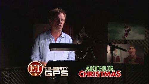Hugh Laurie-Entertainment Tonight (Arthur Christmas)