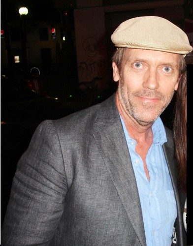 Hugh Laurie- Paris May 2011
