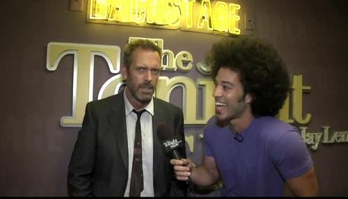 Hugh Laurie at Blackstage The Tonight onyesha set 2011