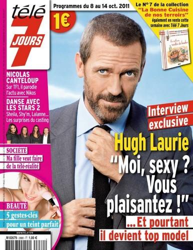 Hugh laurie- Magazine Télé 7 Jours October 2011
