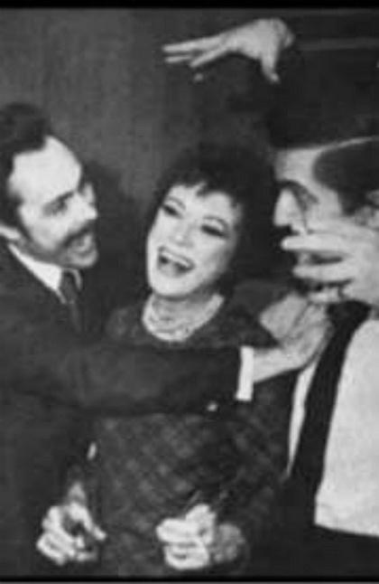 Humbert Allen Astredo, Grayson Hall, and Jonathan Frid