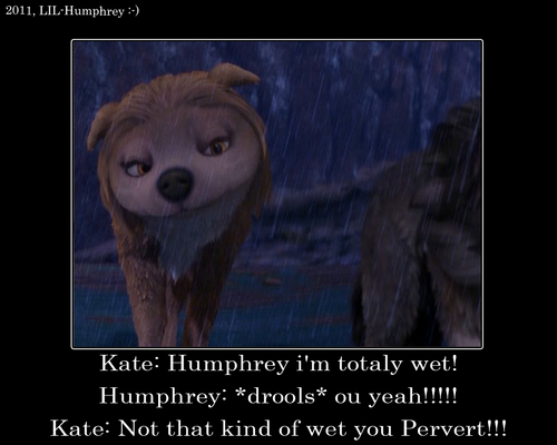 Humphreys dirty minds XD