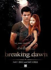 Twilight Series wallpaper with a portrait entitled Jacob Black and Renesmee Cullen
