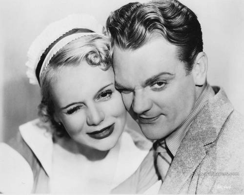 James Cagney and Marie Wilsom