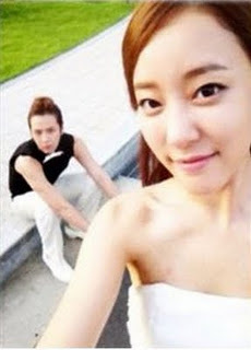 Jang Geun Suk &amp; Woori selca - youre-my-pet Photo