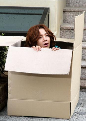 Jang Geun Suk on set