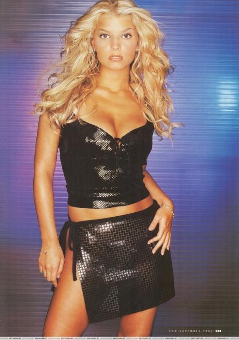 Jessica - FHM - November 2000