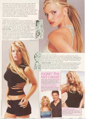 Jessica - Sophisticate's Hairstyle Guide - November 2003