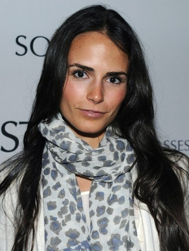 Jordana Brewster wallpaper probably containing a stole and a portrait titled Jordana - at the luncheon Solstice Sunglasses, 16 Nov, 2010