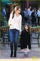 Katie Holmes: Starbucks with Suri! - suri-cruise photo