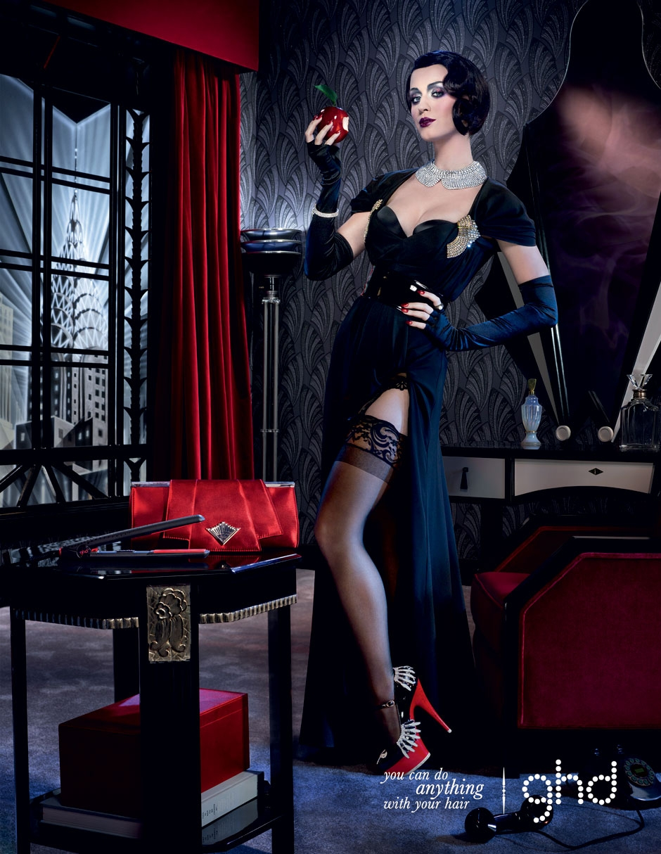Katy Perry ~ 2011 GHD Christmas Campaign Posters