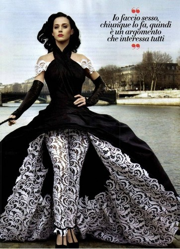 Katy Perry on the cover of Vanity Fair Italy!