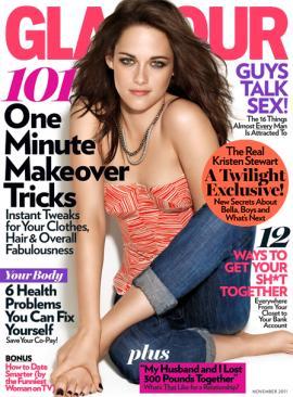 Kristen Stewart glamour mag cover