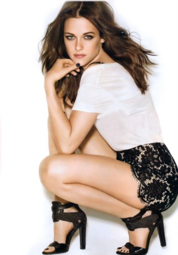 Kristen for Glamour magazine
