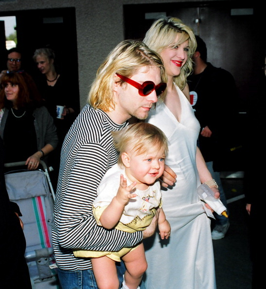 pictures of kurt cobain and courtney love
