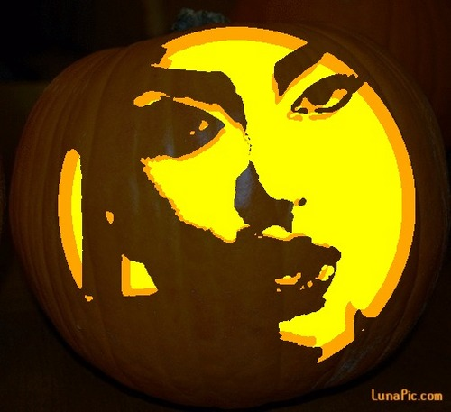 Lady Gaga Pumpkin