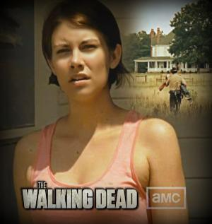 Lauren in Walking dead s2