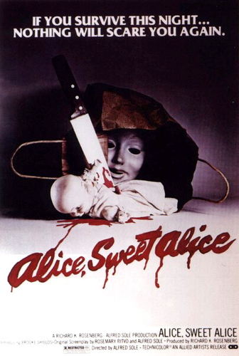 Lesser Known Horror: Alice, Sweet Alice