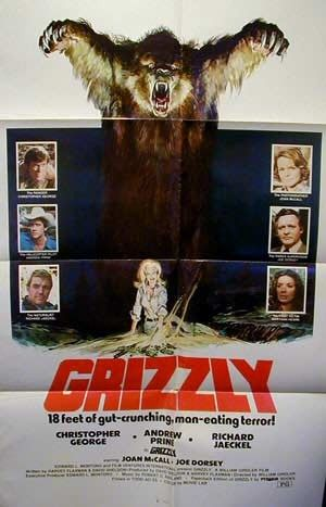Lesser Known Horror: Grizzly