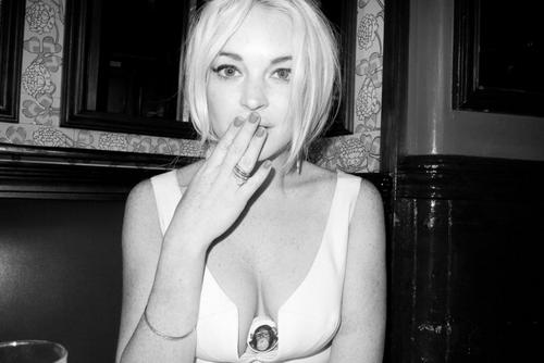 Lindsay Lohan – Terry Richardson Photoshoot Candids
