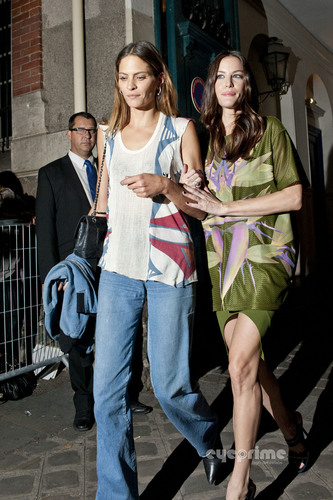 Liv Tyler: Givenchy Show during Paris Fashion Week, Oct 2