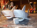 MEGO Shark Aquaman recast prototype