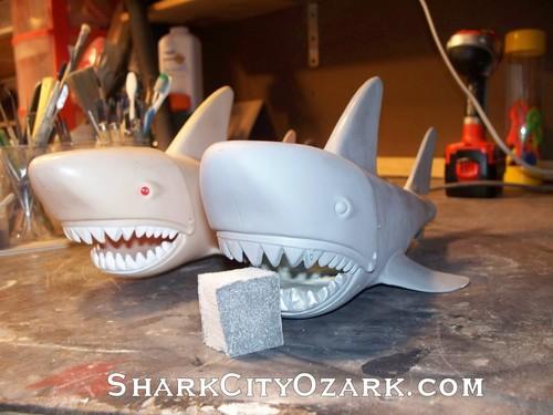 MEGO 鮫, サメ Aquaman recast prototype