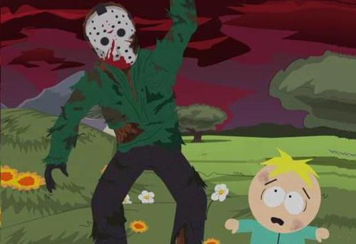 Friday the 13th wallpaper with anime called MFT: South Park Jason Voorhees