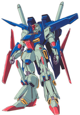 MSZ-010S Enhanced ZZ Gundam