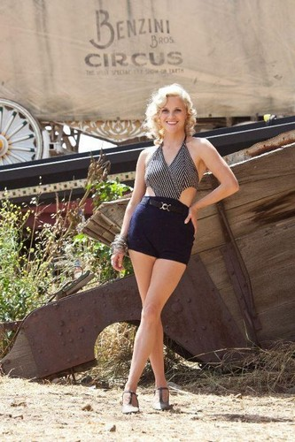Water for Elephants wallpaper possibly with a leotard and hot pants titled Marlena stills