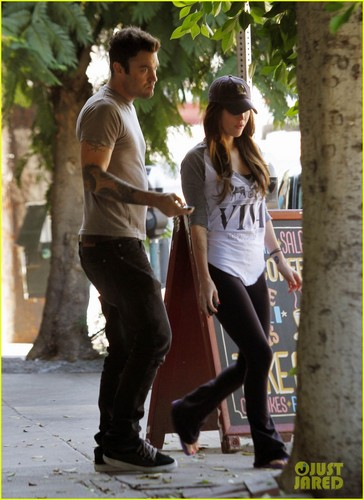 Megan & Brian out in Los Feliz