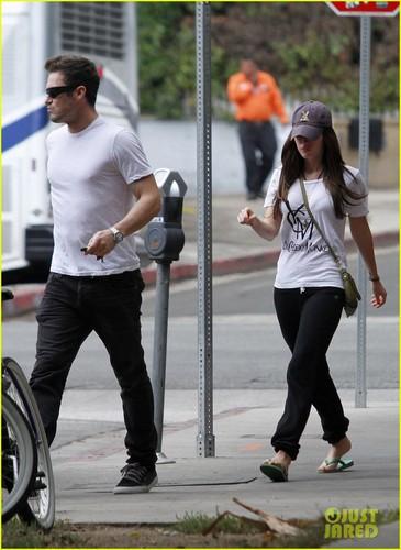 Megan & Brian out in Los Feliz