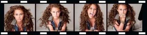 Miley 2009 Wonder World Tour PhotoShoot