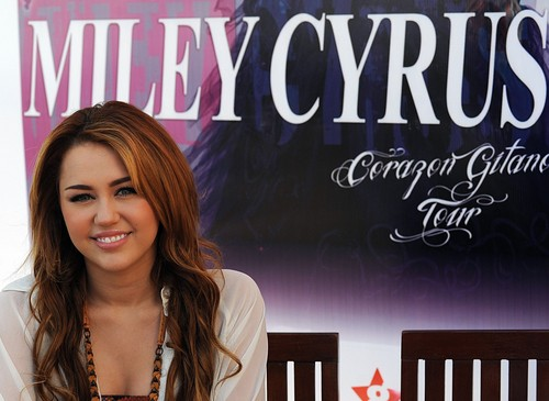 Miley Cyrus ~ Press Conference 2011