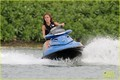 Minka Kelly: Jet ski on 'Charlie's Angels'!