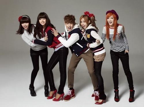 Miss a and Nickhun