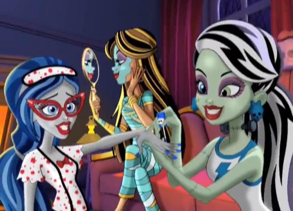 Monster High Dead Tired Commercial  - monster-high