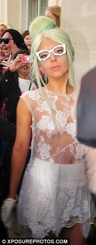 Mother Monster in London!<3