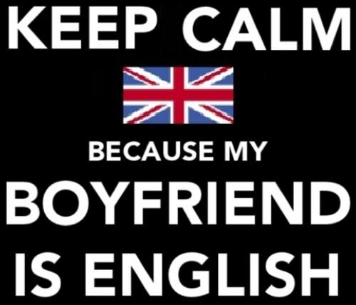 My Boyfriends Is English