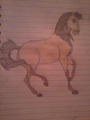 My drawing of Spirit - spirit-stallion-of-the-cimarron fan art