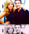 Nathan Kress & Jennette McCurdy