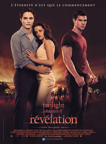 New French Poster For Breaking Dawn