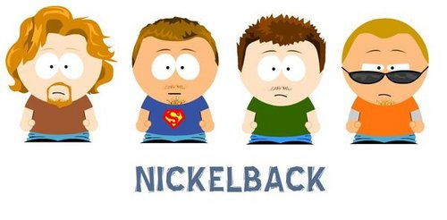Nickelback South Park Style - nickelback Fan Art