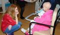 Nicola visiting Alder Hey children's hospital [27/09/11]