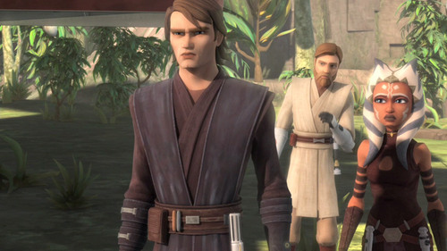 Obi-Wan, Anakin and Ahsoka