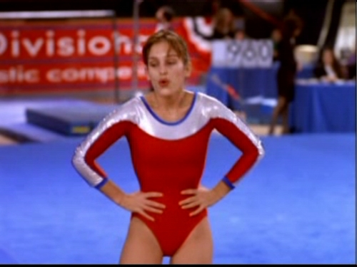 Amy Jo Johnson wallpaper possibly with a gymnast called Perfect Body