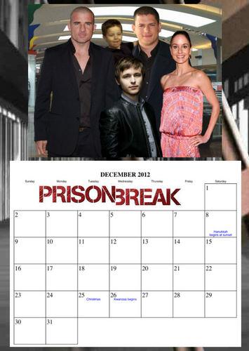 Prison Break - calendar 2012