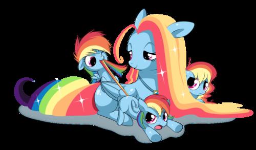 虹 Family